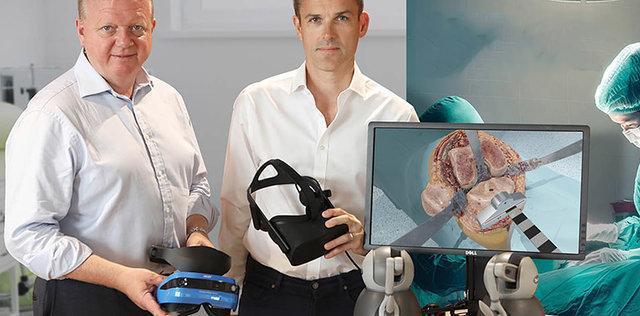 تجربه جراحی با واقعیت مجازی+فیلم