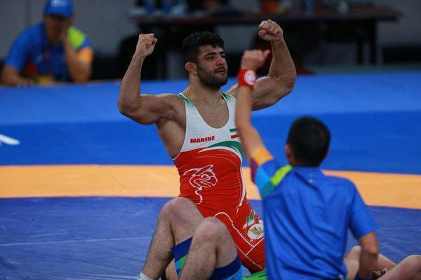 دومین طلای کشتی آزاد به علیرضا کریمی رسید، ششمین مدال برای ایران
