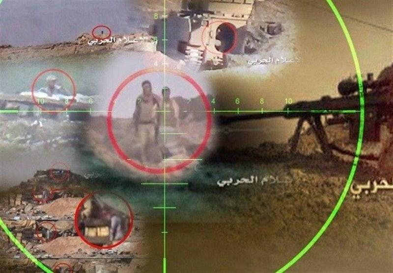 شکار 4 مزدور ائتلاف متجاوز سعودی در عملیات نیروهای یمنی