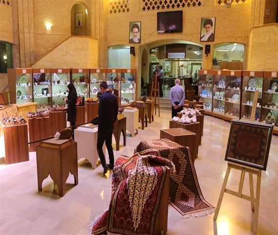 برگزاری نمایشگاه آثار هنرمندان کرمانشاه در سازمان میراث فرهنگی