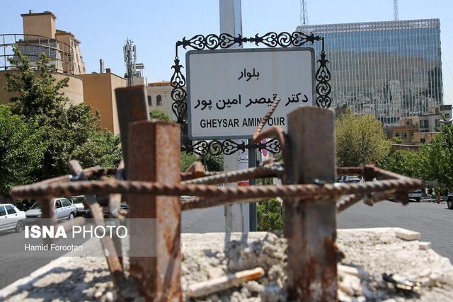 واکنش مسجدجامعی به سرقت سردیس قیصر امین پور