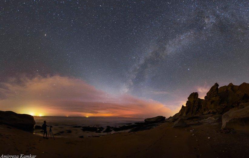 آسمان شب در فصل پاییز؛ از غروب راه شیری تا طلوع شکارچی