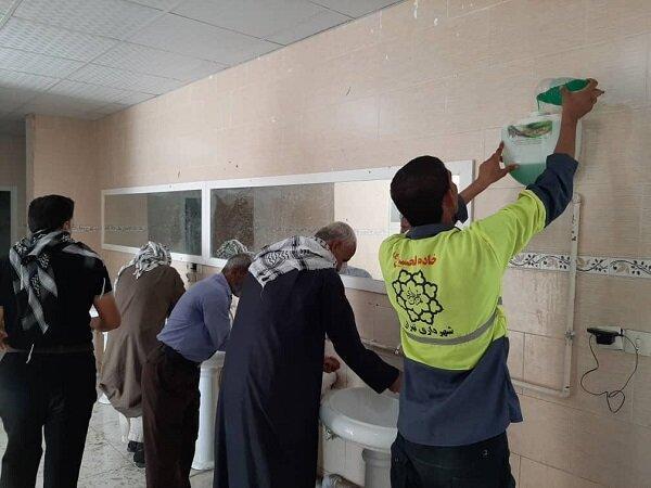 برپایی 140 چشمه سرویس بهداشتی در پایانه مرزی چذابه