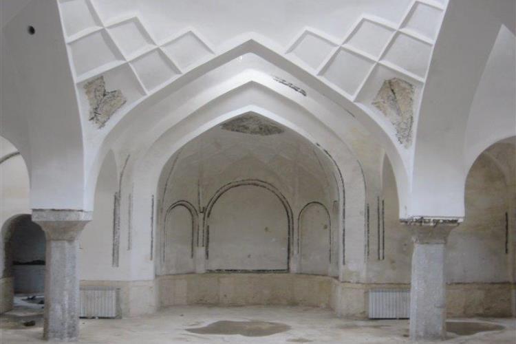 حمام قدیمی دربند میرزای تفت مرمت شد