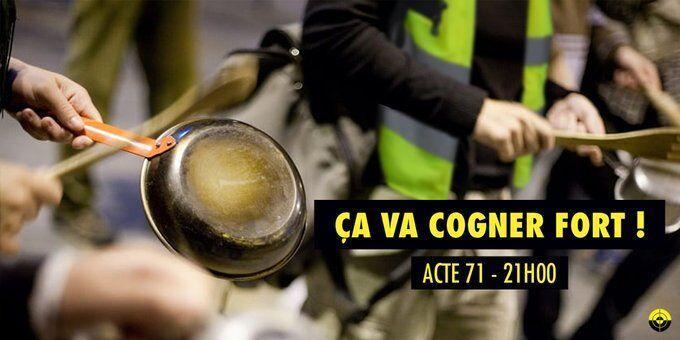 خبرنگاران جلیقه زردهای فرانسه دست به ماهی تابه می شوند