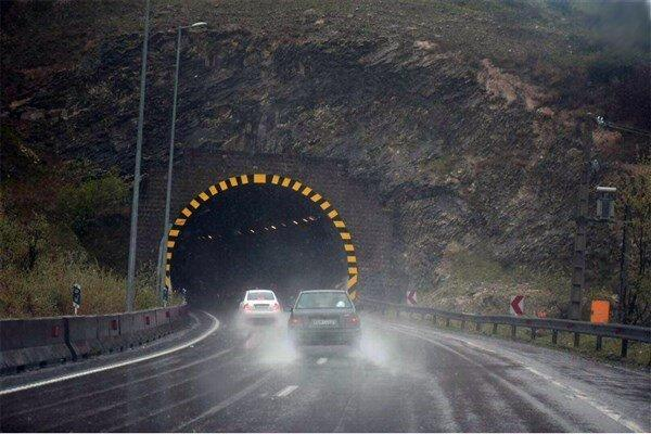 احتمال بارش پراکنده باران در البرز