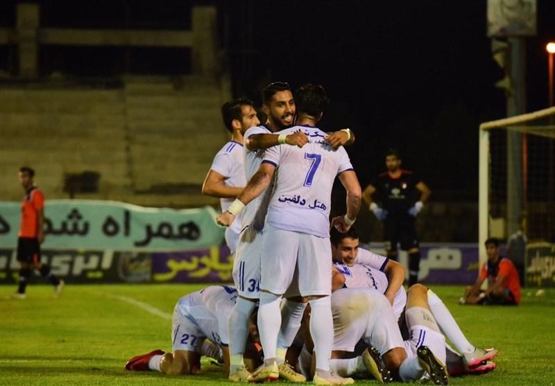 لیگ دسته اول فوتبال، پیروزی مدعیان در شب شکست صدرنشین، ملوان با شکست پُرگل علم و ادب، موقتاً از منطقه خطر خارج شد