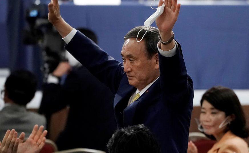 یوشیهیده سوگا نخست وزیر جدید ژاپن شد