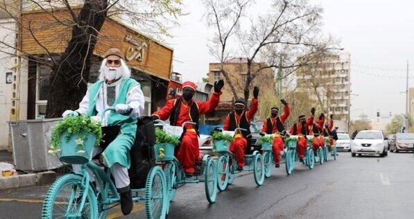 کارناوال های نوروزی در معابر مرکزی تهران تا 12 فروردین