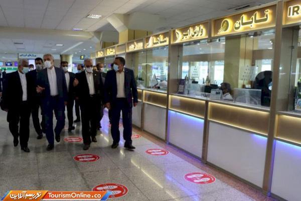 پروتکل های بهداشتی در فرودگاه مشهد به خوبی رعایت می گردد